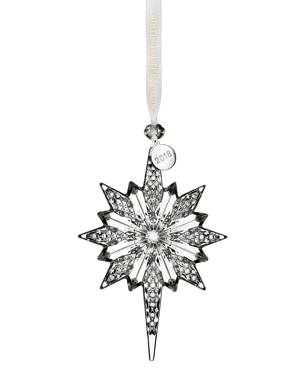 Annual Snowstar Christmas Ornament