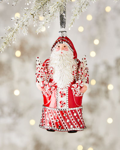 Charming Peppermint Noel Ornament