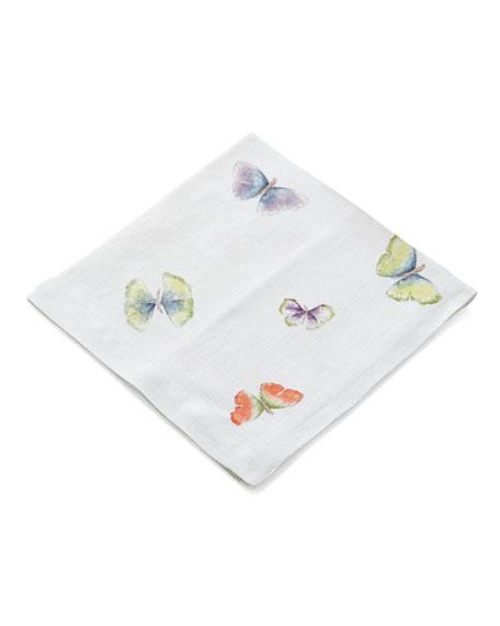 Michael Aram Butterfly Gingko Printed Dinner Napkin