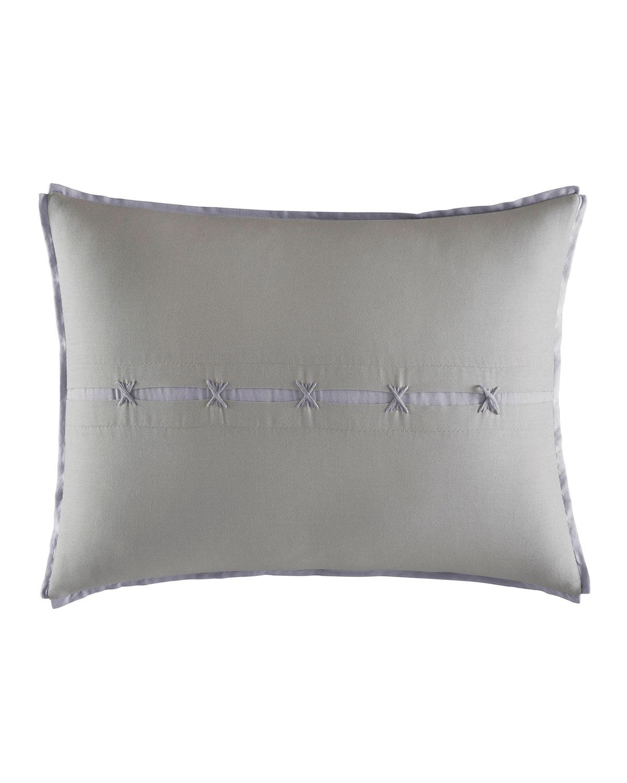 Center Slot Decorative Pillow