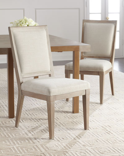 Pair of Wyatt Dining Side Chairs
