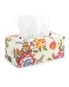 MacKenzie-Childs Flower Market Standard Tissue Box Holder