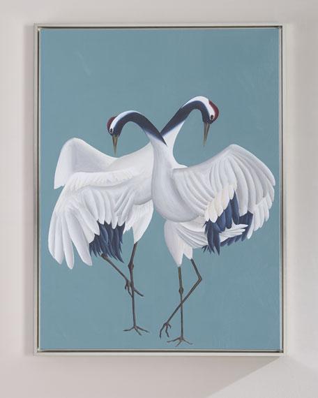 """""""Love Birds"""" Giclee Wall Art"""