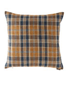 D.V. Kap Home Stately Plaid Pillow, 24