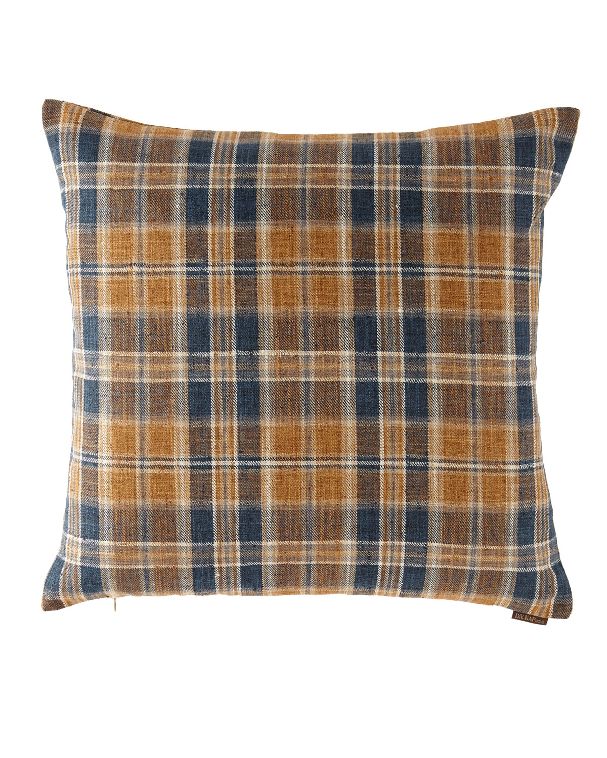 Stately Plaid Pillow, 24