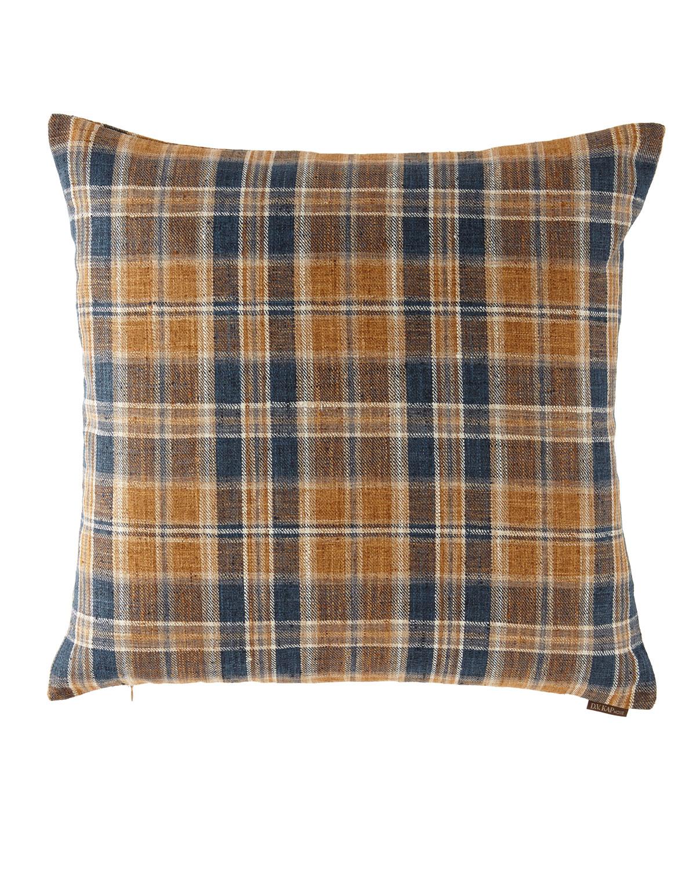 Stately Plaid Pillow, 24