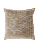 Eastern Accents Artemis Brass Knife-Edge Pillow