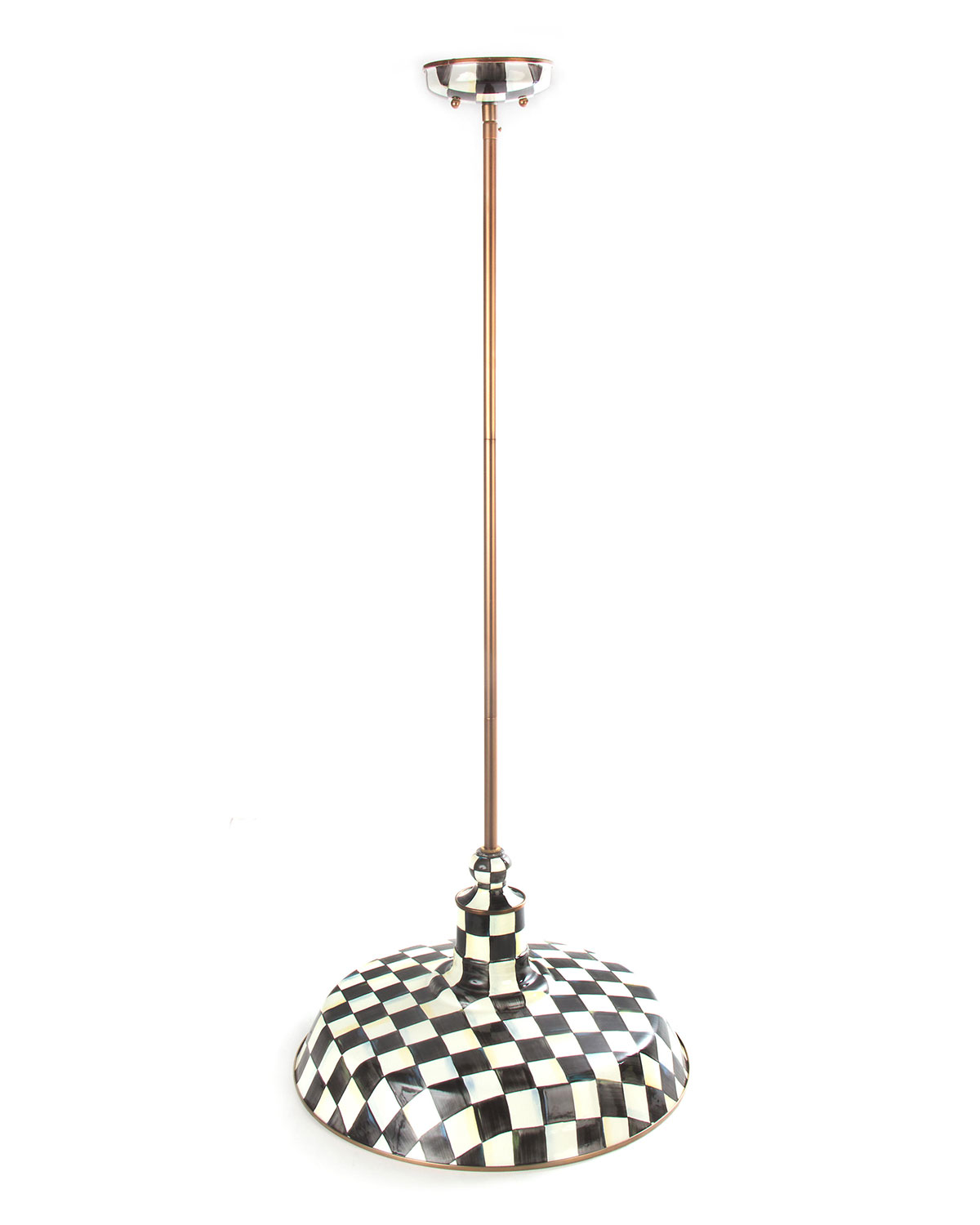 Courtly Check Barn Pendant Lamp 18