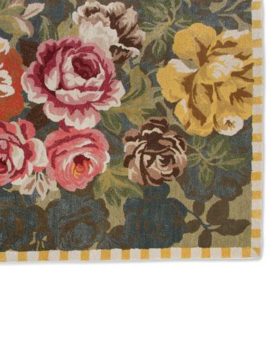 Bloomsbury Garden Rug, 2.3' x 3.75'