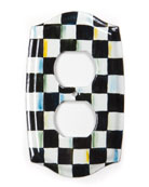 MacKenzie-Childs Courtly Check Outlet Cover Plate