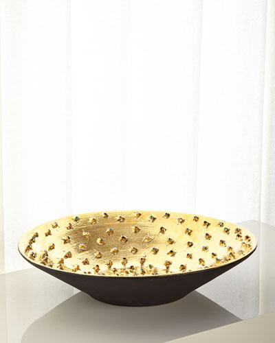 Large Golden Bowl