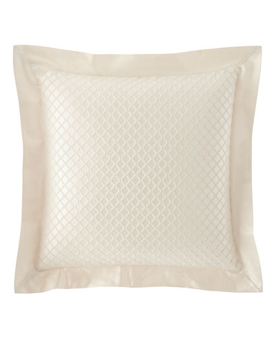 Leisure Flanged Diamond-Quilted European Sham