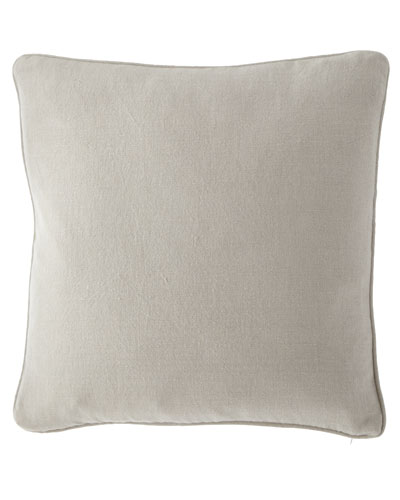 Stone Washed Linen Decorative Pillow, 20