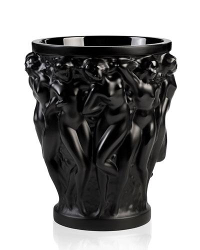 Lalique Crystal Vase Neiman Marcus