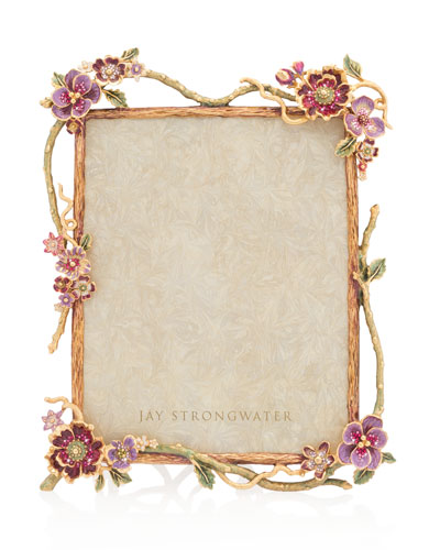 Jay Strongwater Metal Picture Frame Neiman Marcus