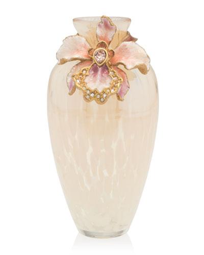 Glass Blown Vase Neiman Marcus
