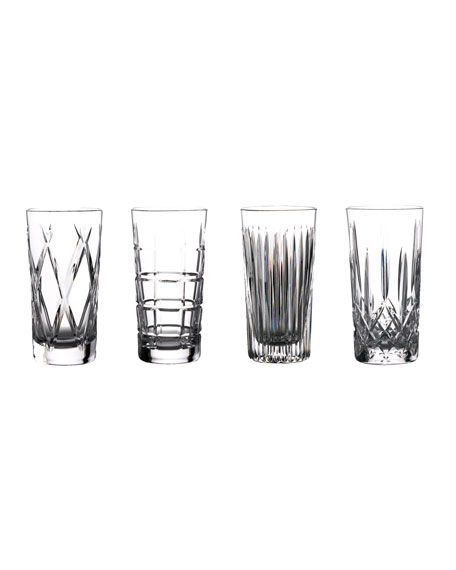 Waterford Crystal Gin Journey Highball Glasses, Set of 4