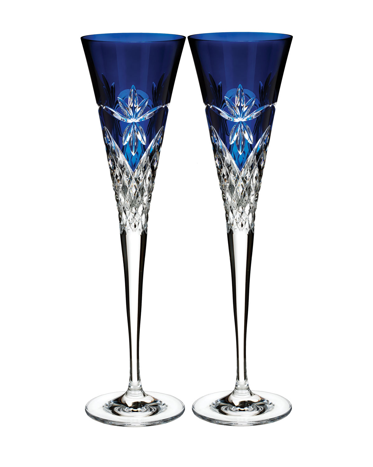 Times Square Flutes, Set of 2