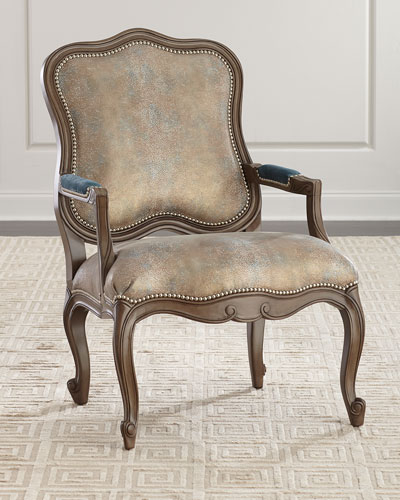 Opal Shimmer Bergère Chair