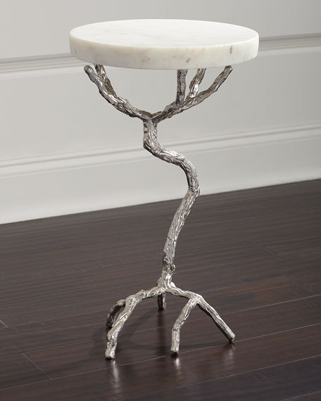 John-Richard Collection Twisted Martini Table
