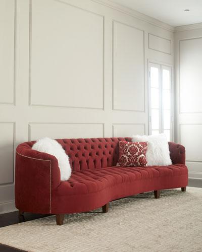 161d97c16ab8 Handcrafted Velvet Sofa | Neiman Marcus