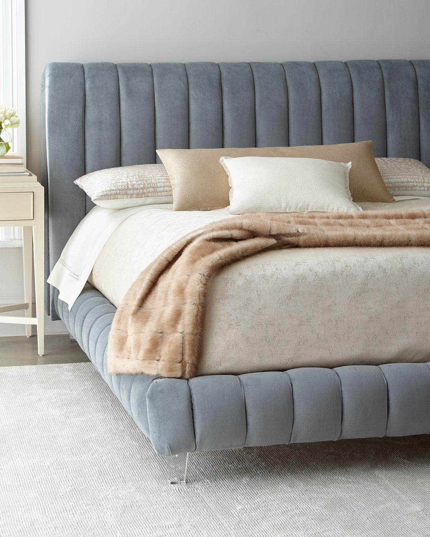 Amal ChannelTufted Queen Platform Bed