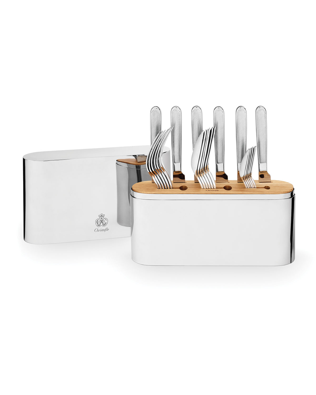 Christofle Flatwares CONCORDE 24-PIECE FLATWARE SET