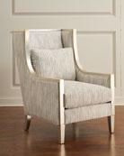 John-Richard Collection Tori Heirloom High-Back Chair