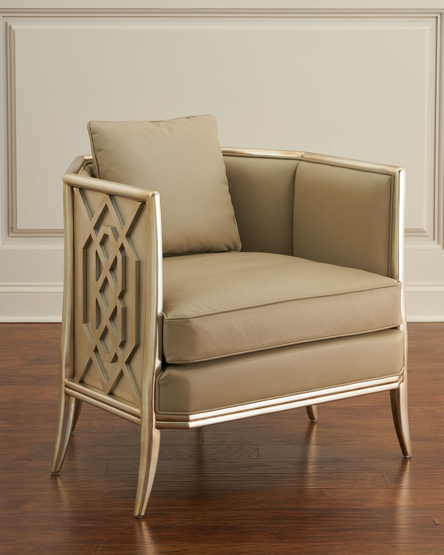 Fretwork Lounge Chair