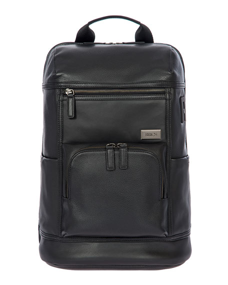 Bric's Torino Men's Leather Urban Backpack
