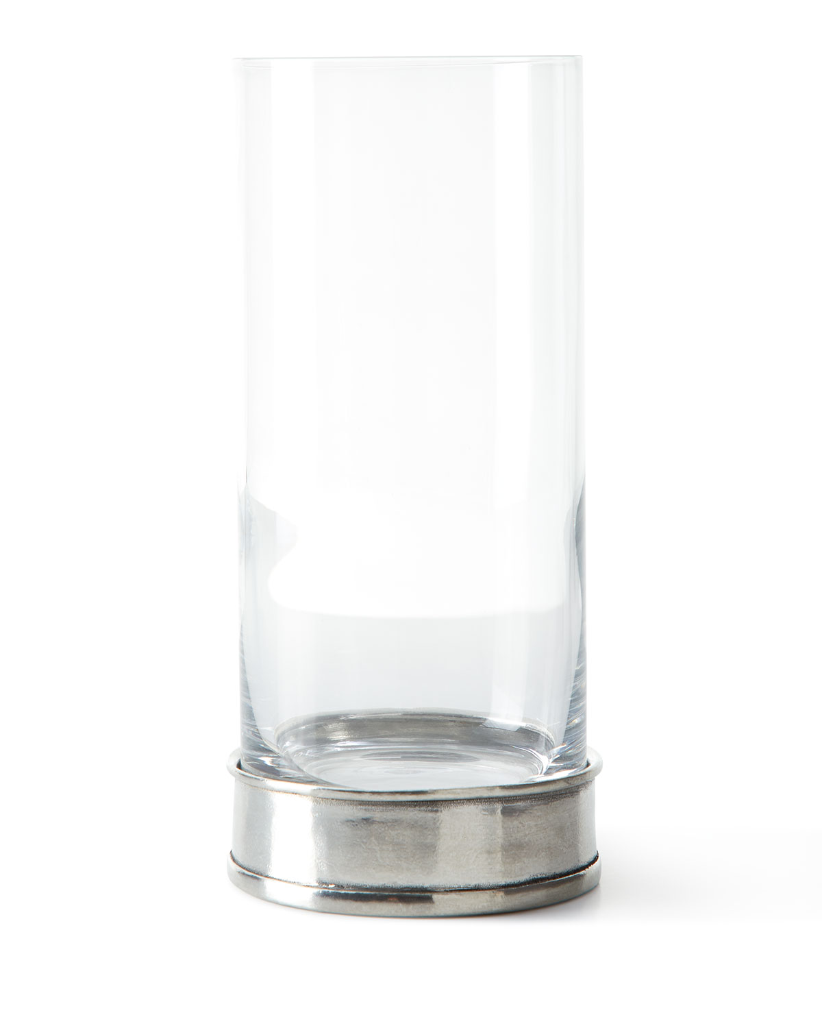 Pewter and Glass Highball