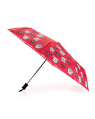 Anna Coroneo Bulldogs Auto-Open Umbrella