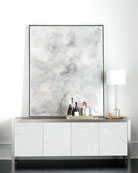 Bernhardt Decorage Marble Door Entertainment Console