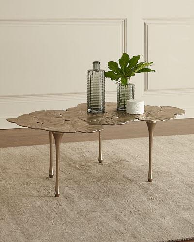 Annabelle Gingko-Leaf Coffee Table