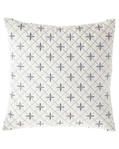 Darboux Embroidered Velvet Decorative Pillow