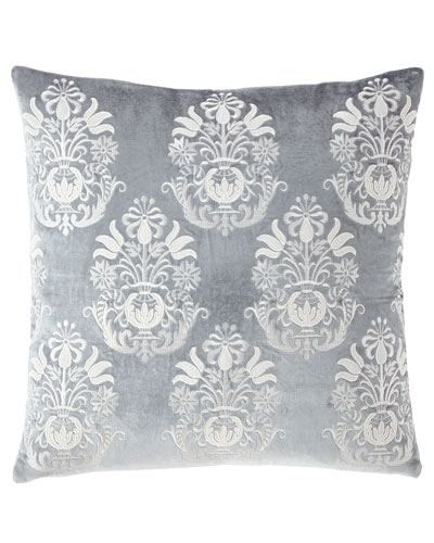 Darboux Velvet Renaissance Decorative Pillow