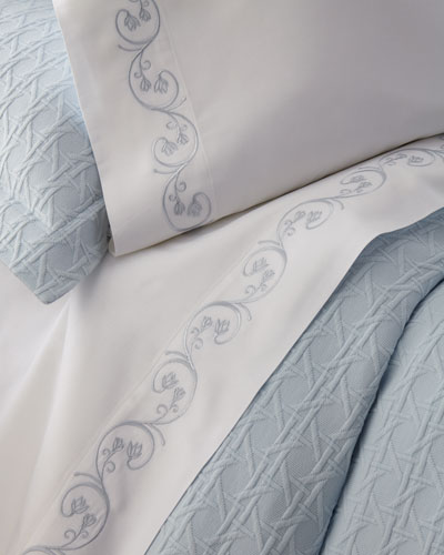 Quick Look. SFERRA · Cassy Pima Cotton Sheet ...