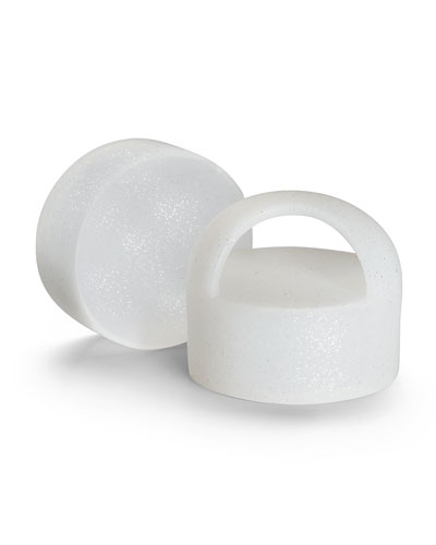 Limited Edition Diamond White Silicone Carrying Loop