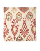Kim Seybert Marrakech Napkin, Natural/Red/Gold