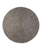 Kim Seybert Handmade Confetti Beaded Placemat, Gunmetal