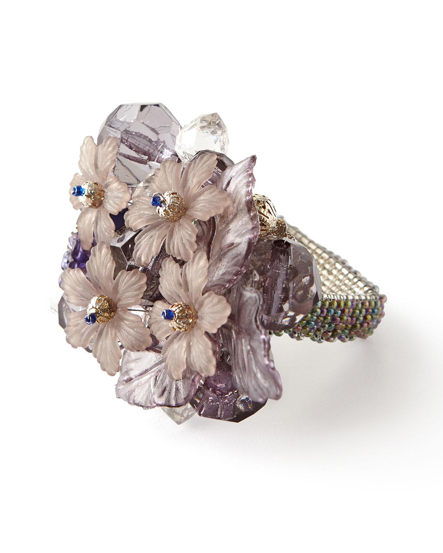 Bouquet Napkin Ring