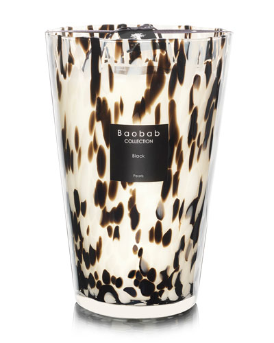 Black Pearls Scented Candle, 13.8