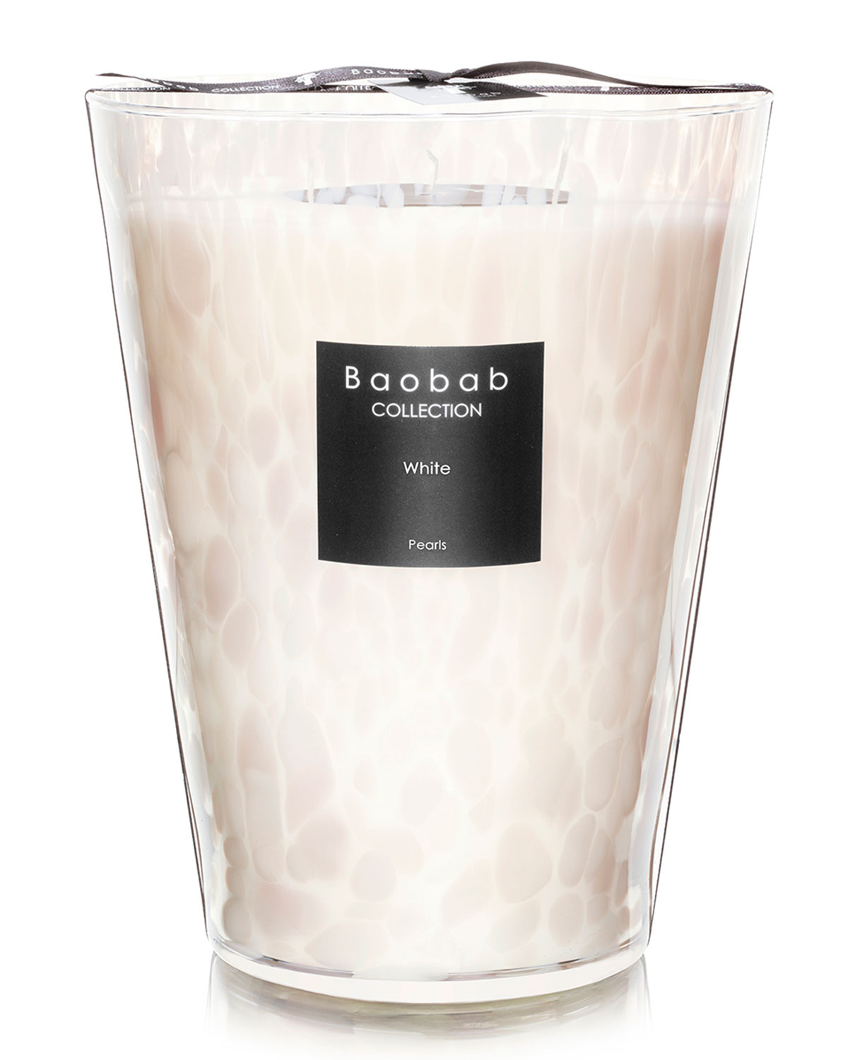 """Baobab Collection Candles WHITE PEARLS CANDLE, 9.4"""""""