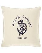 Ralph Lauren Home Lucille Decorative Pillow, 18