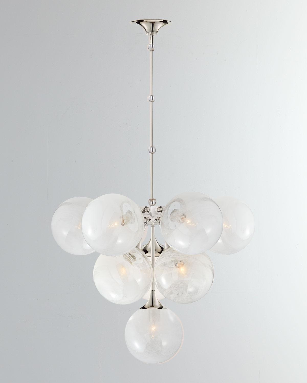 Aerin Lighting & lamps CRISTOL TIERED PENDANT LIGHT