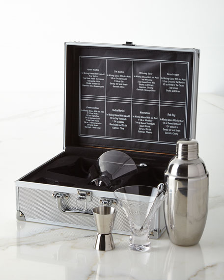 Godinger Liquid Lunch For 2 Bar Tools Set