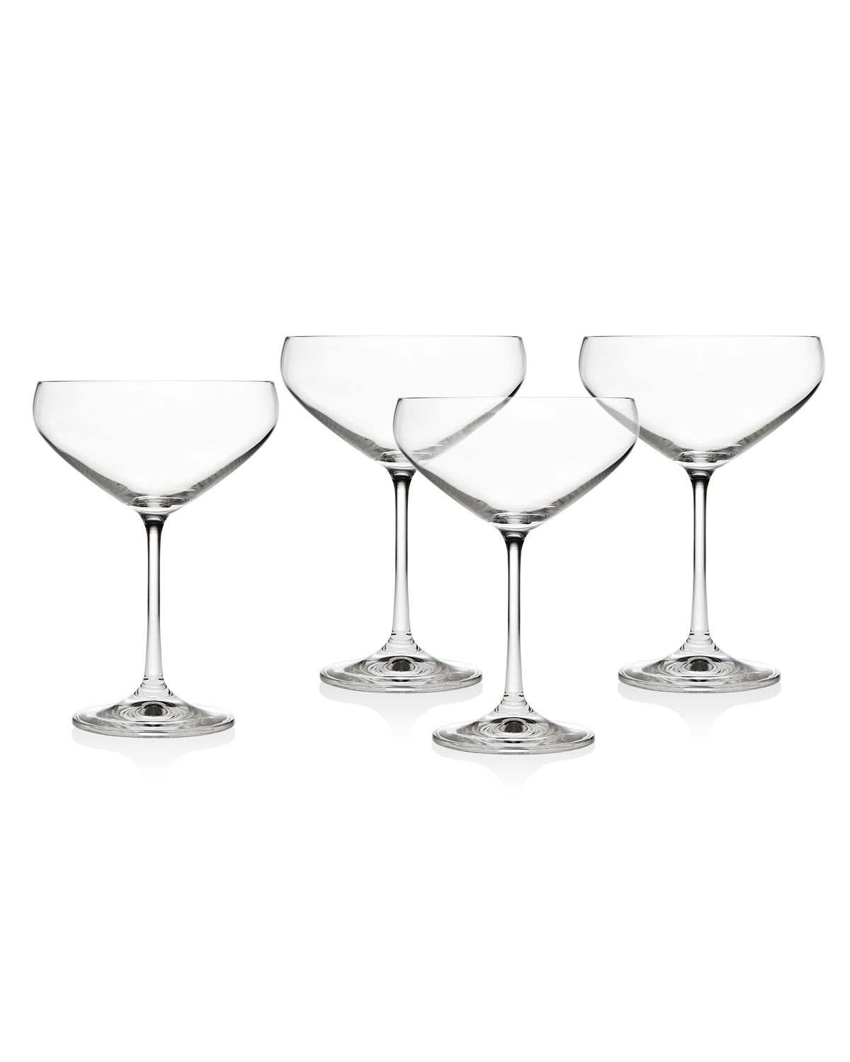 Meridian Champagne Coupe Cocktail Glasses, Set of 4