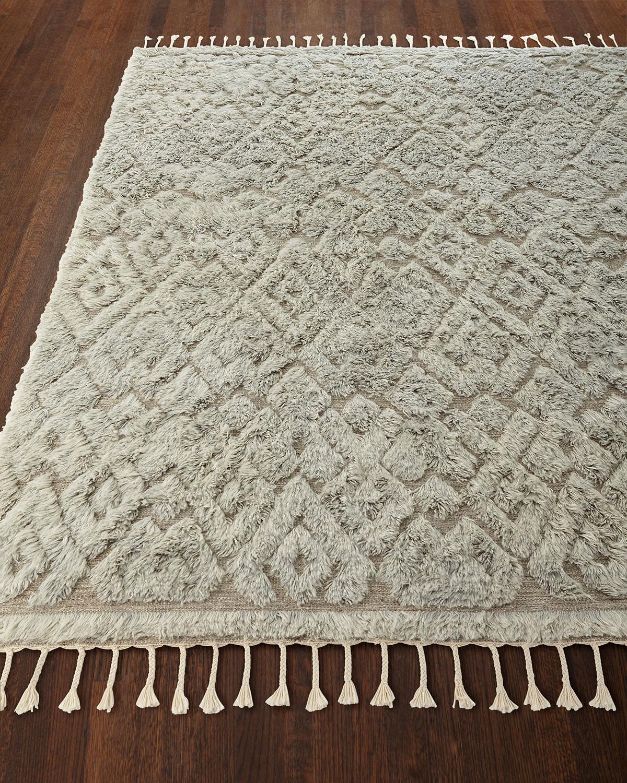 Berke Hand-Loomed Rug, 8.5' x 11.5'