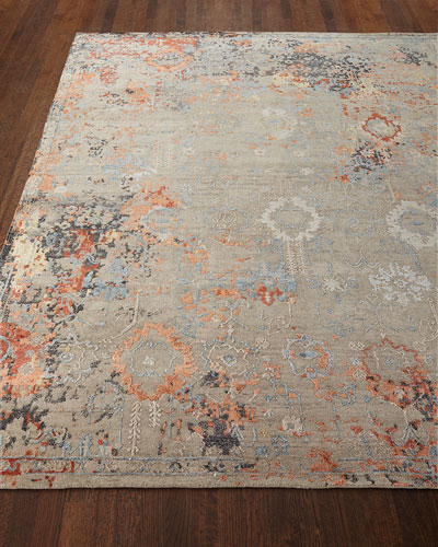 Jenzyn Hand-Knotted Rug, 8' x 10'