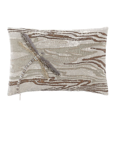 Dragonfly Decorative Pillow, 8